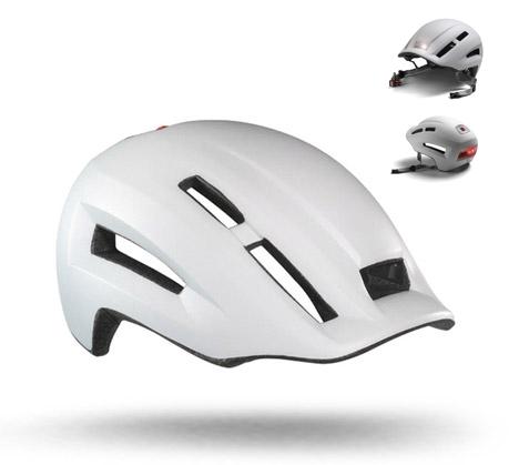 Headlamp + Helmet = Lazer's Urbanize N'Light Helmet